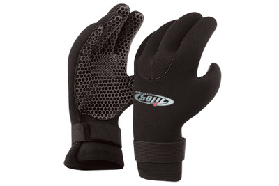 Tilos 5mm Velcro Gloves w/Supratex Palm