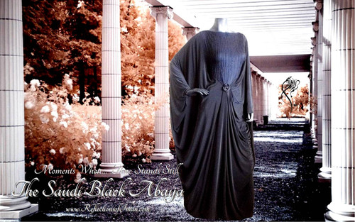 Black Beauty...  The Jersey Abaya