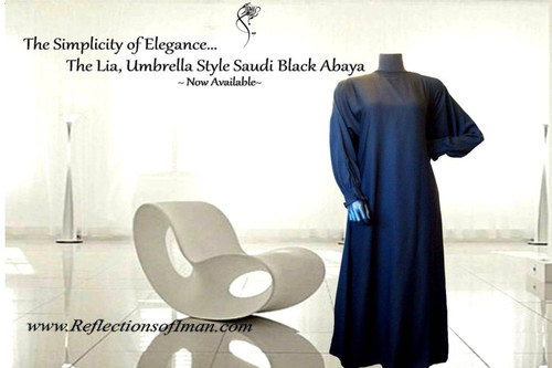 The Saudi Umbrella Style Abaya