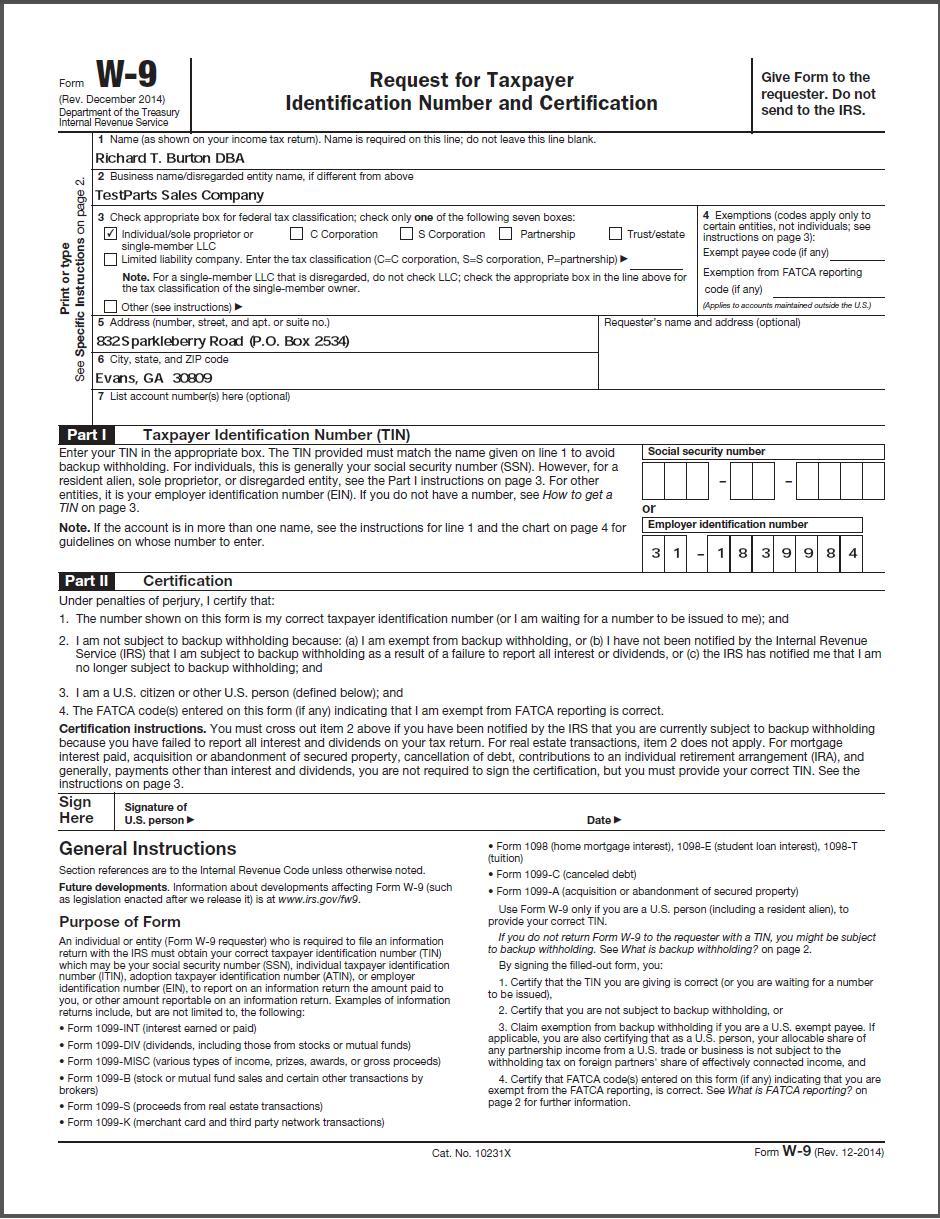 w9 form ga - Nuruf.comunicaasl.com