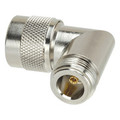 UG-27A/U - Type N Male Female Right Angle Coaxial Adapter