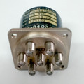 Dynatech Q6-413K002 | RF Coaxial Switch | SP6T | DC-18 GHz