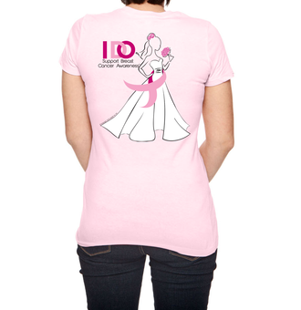 Lori Allen of Say Yes to the Dress Atlanta- Limited Edition Breast Cancer Awareness Tshirt - Say Yes to the Cure