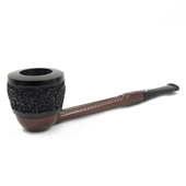 """Falcon """"Extra"""" Straight Stem with Rustic Dover Bowl and Standard Mouthpiece"""