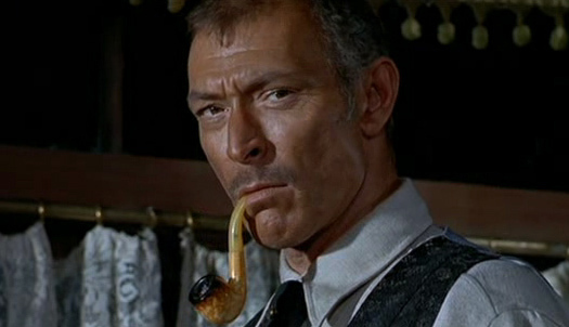 Lee Van Cleef Smoking The Meerschaum Pipe