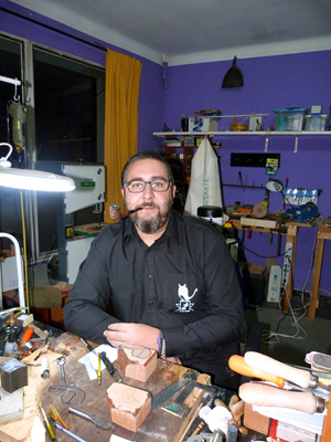 Robert Marcos of Markuź Pipes