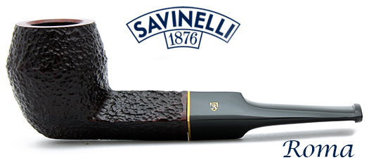 Savinelli Roma Header at GQTobaccos