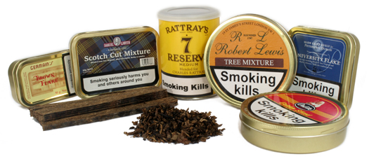 Pipe tobaccos at GQTobaccos.com