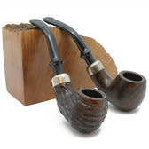 Basket Pipe - Baby Bent (Smooth or Rustic)