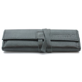 Ilmorello - Large Roll Over Pouch (Black Leather)