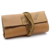 Ilmorello - Small Roll Over Pouch (Brown Leather)