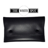 Alfred Dunhill - White Spot - Black Leather Tobacco Pouch (PA2001)