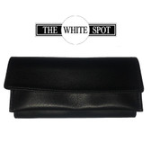 Alfred Dunhill - White Spot - Black  Roll Up Tobacco Pouch (PA2000)