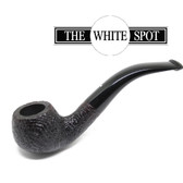 Alfred Dunhill - Shell Briar - 2 113 - Group 2 - Bent Apple - White Spot