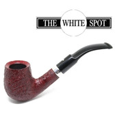 Alfred Dunhill - Ruby Bark - 3 202- Group 3 -   White Spot - Silver Band