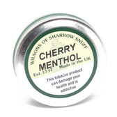 Wilsons of Sharrow Snuff - Cherry Menthol - 25g - Large Tin