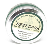 Wilsons of Sharrow Snuff - Best Dark - 25g - Large Tin