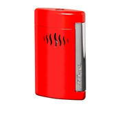 S.T. Dupont Minijet - Chrome & Wild Red - Lighter