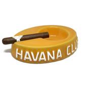 Havana Club Collection Yellow Cigar Ashtray Egoista Ceramic Ashtray