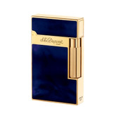 S.T. Dupont - Ligne 2 (Line 2) Lighter - Atelier Blue & Gold