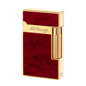 S.T. Dupont - Ligne 2 (Line 2) Lighter - Atelier Cherry  Red & Gold