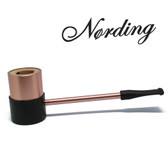Erik Nørding - Sailor Pipe - Aluminium Briar Lined - Copper
