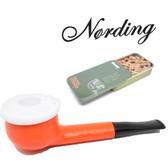 Erik Nørding - Shorty Pipe - Orange