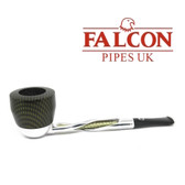 Falcon - Shillelagh (Polished/Green ) with Carbon Fibre Green Dover Bowl