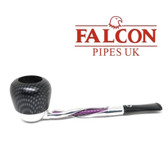 Falcon - Shillelagh (Polished/ Purple ) with Carbon Fibre Purple Genoa Bowl