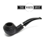 Alfred Dunhill - Shell Briar - 4 108 BB1112 - Group 4 - Silver Band - White Spot