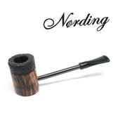 Erik Nørding - Compass Pipe - Poker - Half Rustic #1