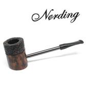 Erik Nørding - Compass Pipe - Poker - Half Rustic #2