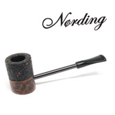 Erik Nørding - Compass Pipe - Poker - Half Rustic #3