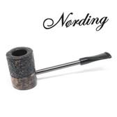 Erik Nørding - Compass Pipe - Poker - Half Rustic #4