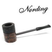 Erik Nørding - Compass Pipe - Poker - Half Rustic #5