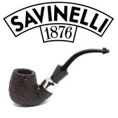 Savinelli - Dry System 613 Rusticated  (6mm Filter)