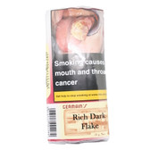JF Germains - Rich Dark Flake  - Pipe Tobacco - 50g Pouch