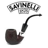 Savinelli - Dry System 614 Rustic  (6mm Filter)