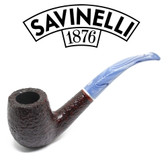 Savinelli - Oceano Rustic - 606 - Bent Billiard - 6mm Filter