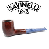 Savinelli - Oceano Smooth - 106 - Straight Billiard - 6mm Filter
