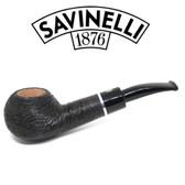 Savinelli - Otello - Rusticated  - 321 - Diplomat -  6mm Filter