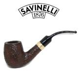 Savinelli - Tevere 607 Rustic - 6mm Filter