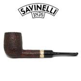 Savinelli - Tevere 114 Rustic - 6mm Filter