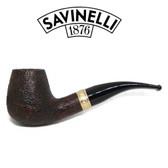 Savinelli - Tevere 628 Rustic - 6mm Filter