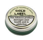 Wilsons of Sharrow Snuff - Gold Label - 5g - Small Tin