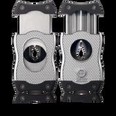 Colibri Cigar SV - Cut Cutter Two in One - Chrome & Black