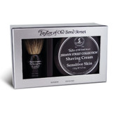 Taylor of Old Bond Street - Badger Brush & Jermyn Street Sensitive Skin Shaving Cream Gift Set