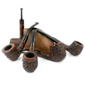 Basket Pipes - PS Rustic (Straight, Curved & Bent)
