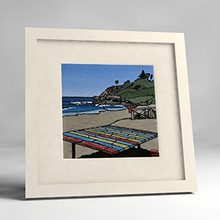 warriewood framed print