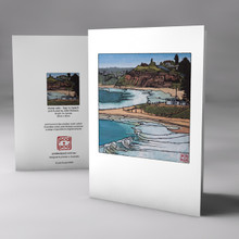 mona vale - bay to beach card